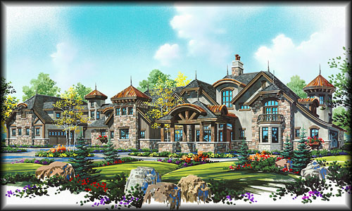Stock House Plans Search by Floor Plan Type – Luxury Estate Home Floor Plans