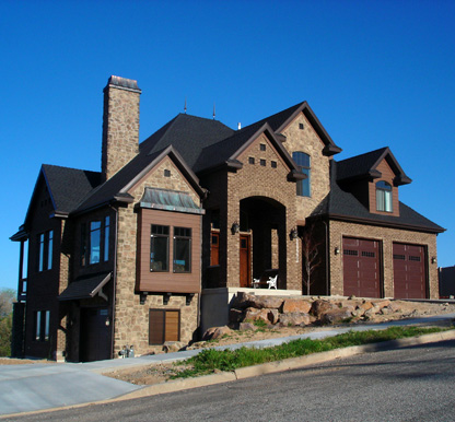 Gallery of exterior house elevations | Luxury and custom home ...