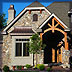 Exterior custom luxury home elevations