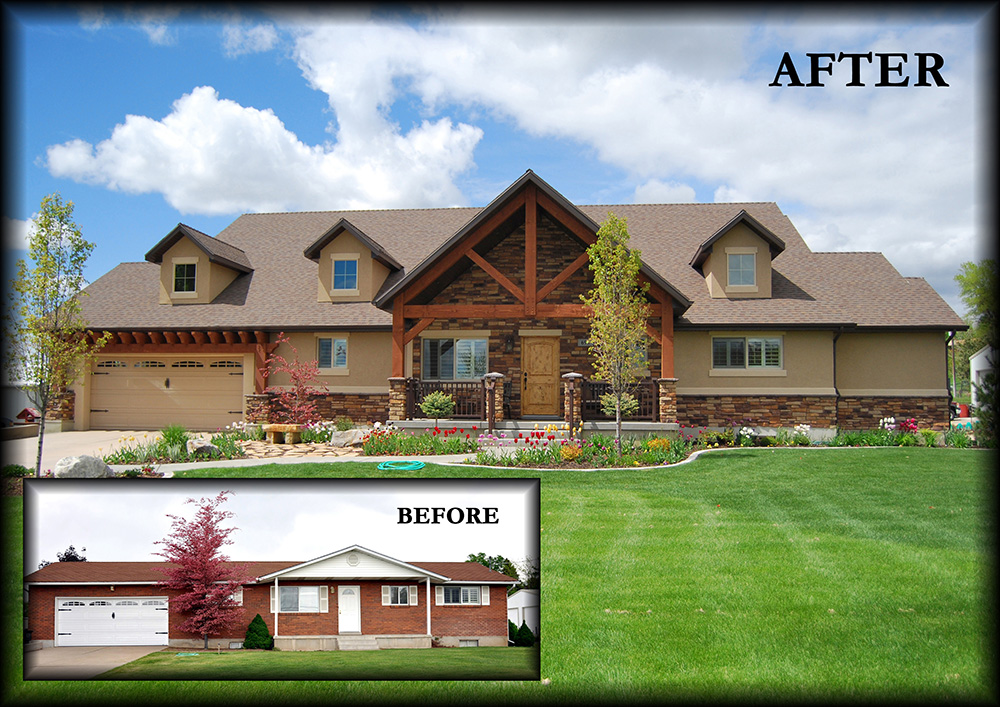 Kaysville addition remodel masterpiece