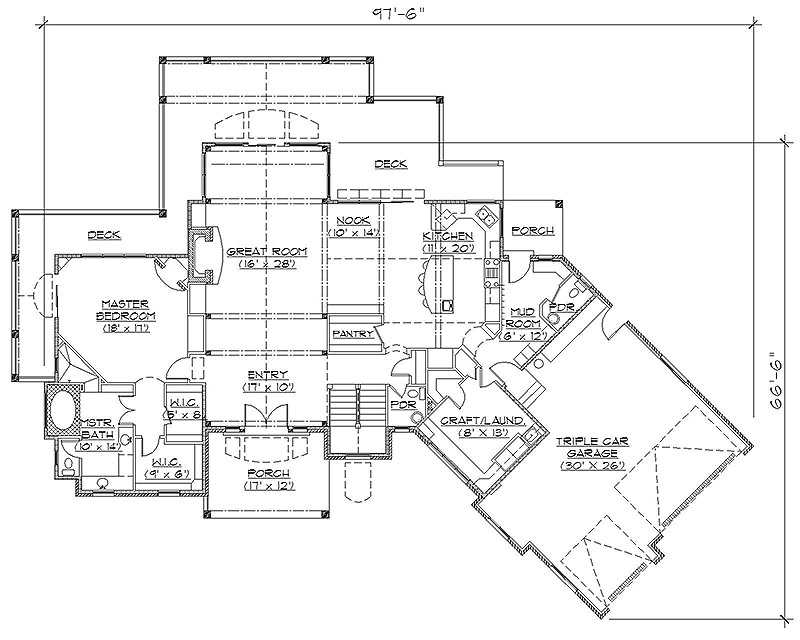 Rambler House Plans Home Design Ideas Eplans Craftsman