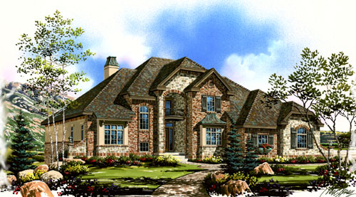Luxury custom architectural home designs